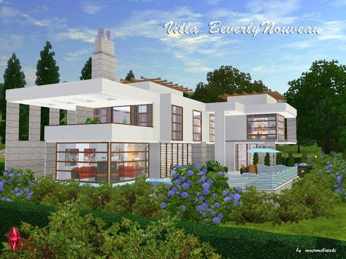 16 best the sims 3 house blueprints images on pinterest home sims 3 house blueprints by breginelli see more beverly nouveau villa by matomibotaki malvernweather Images