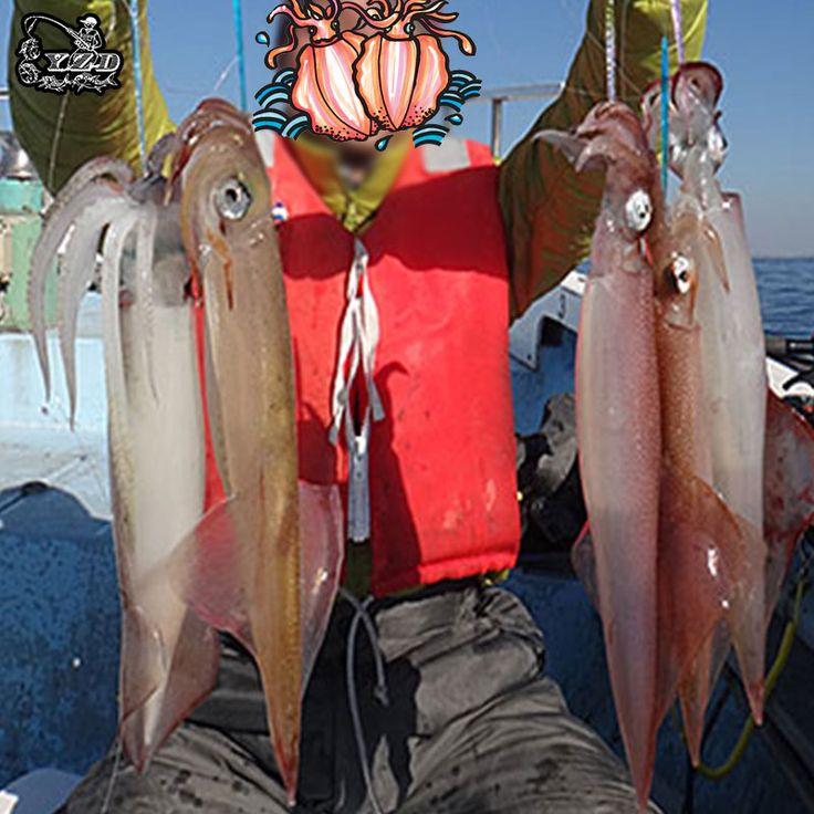 新しい12ピース発光イカジグ光フックイカエビ2.0タコジギング餌釣りturluttes calamarsイカルアー