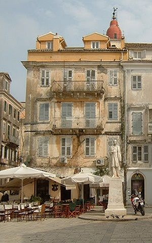 The Town of Corfu Island (Ionian), Greece