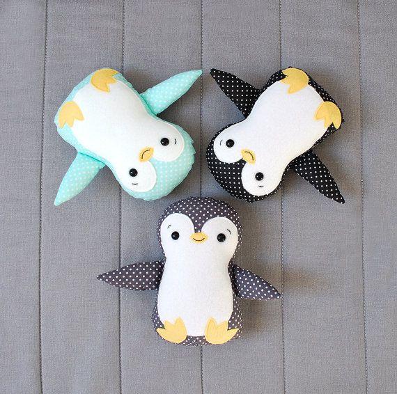 Pingouin bébé tissu peluche Animal jouet Rag doll pour par Jobuko