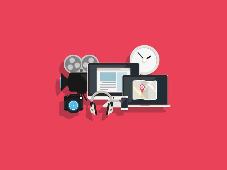 The Iconfinder Blog | Flat icons pt.4