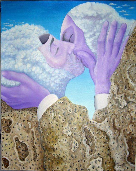 L'ULTIMO BACIO olio su tela 50 x 40 Artist: Paolo Pomati  https://www.facebook.com/pages/Artist-Paolo-Pomati/171660836182483