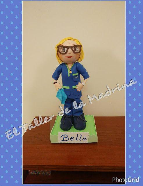 El Taller de la Madrina: Os presento a Bella, una simpática encargada de Eu...