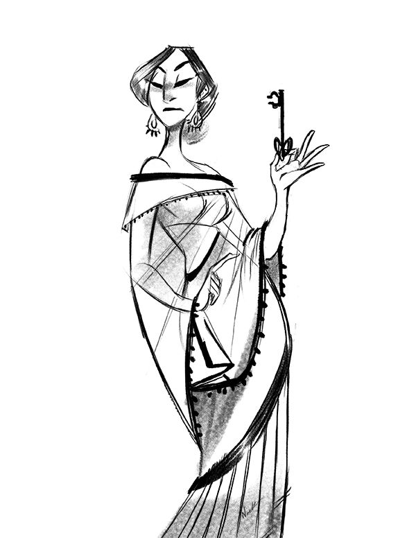 Another sketch! Decided to time myself after doing that other one and came with this. Inspired by this dress by Tarun Tahilianihttp://www.pinterest.com/pin/487303622151807451/
