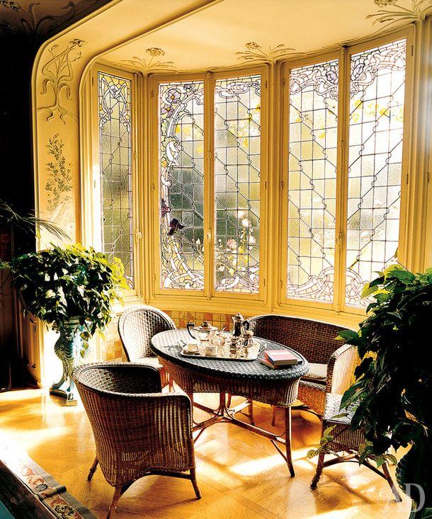 Семейная вилла Луи Вюиттона в Аньере, Франция Дизайнер Луи Мажорелль
