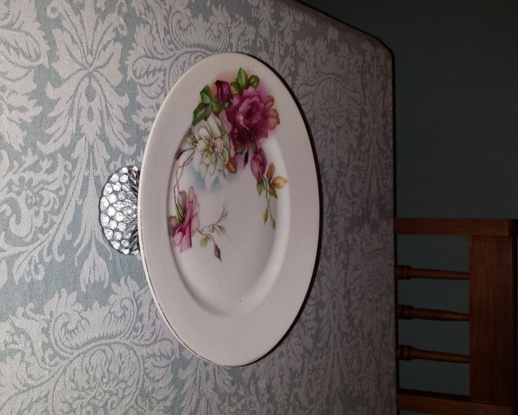 a plate my mother used many many years ago. I've changed it into a cake stand