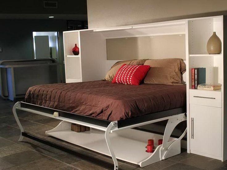best 25 murphy bed desk ideas on pinterest murphy bed with desk hidden beds in wall and diy. Black Bedroom Furniture Sets. Home Design Ideas