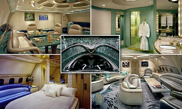 An inside look at the world's most luxurious planes