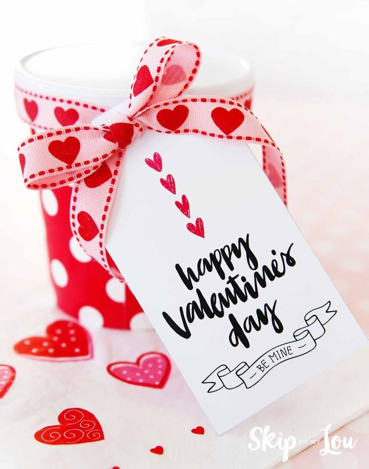 Valentine Gift Tags Free Printables Valentine Gifts Valentines