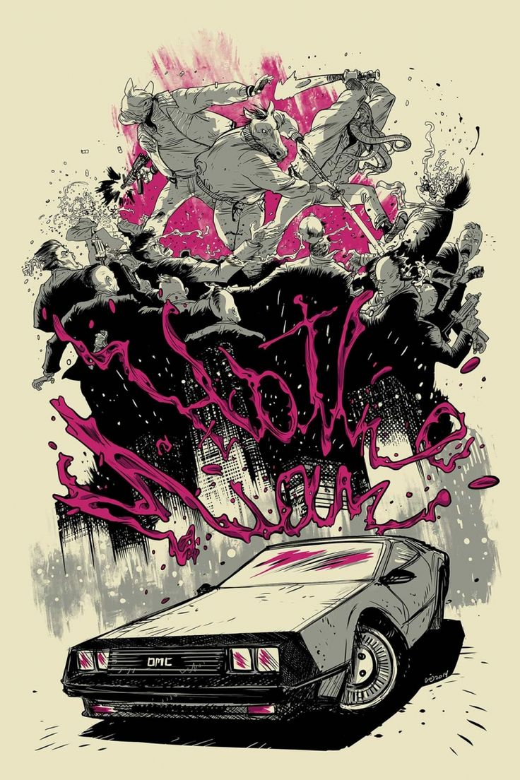 Hotline Miami poster by Daniel Warren Johnson