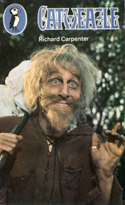 1970-71 CATWEAZLE war ein schrulliger, angelsächsischer Hexenmeister aus dem MA, der mit einem Zaubertrank fliegen wollte. Stattdessen landete er irgendwie in den 70ern.