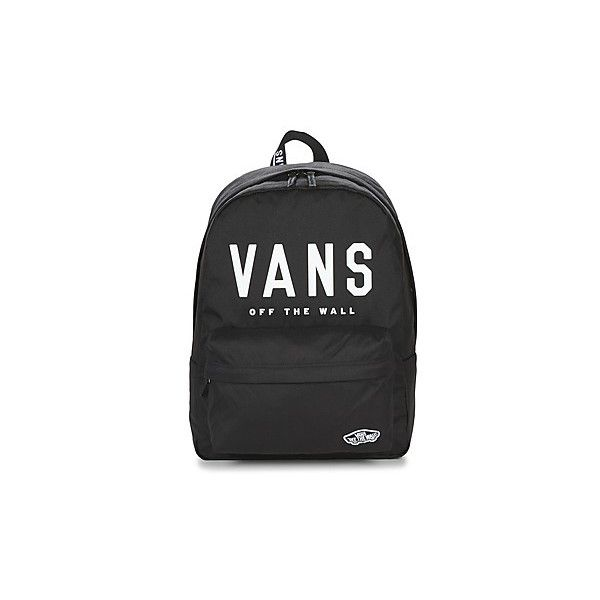 Vans SPORTY REALM BACKPACK Backpack ($43) ❤ liked on Polyvore featuring bags, backpacks, backpack, black, day pack backpack, vans backpacks, knapsack bag, backpack bags and rucksack bags