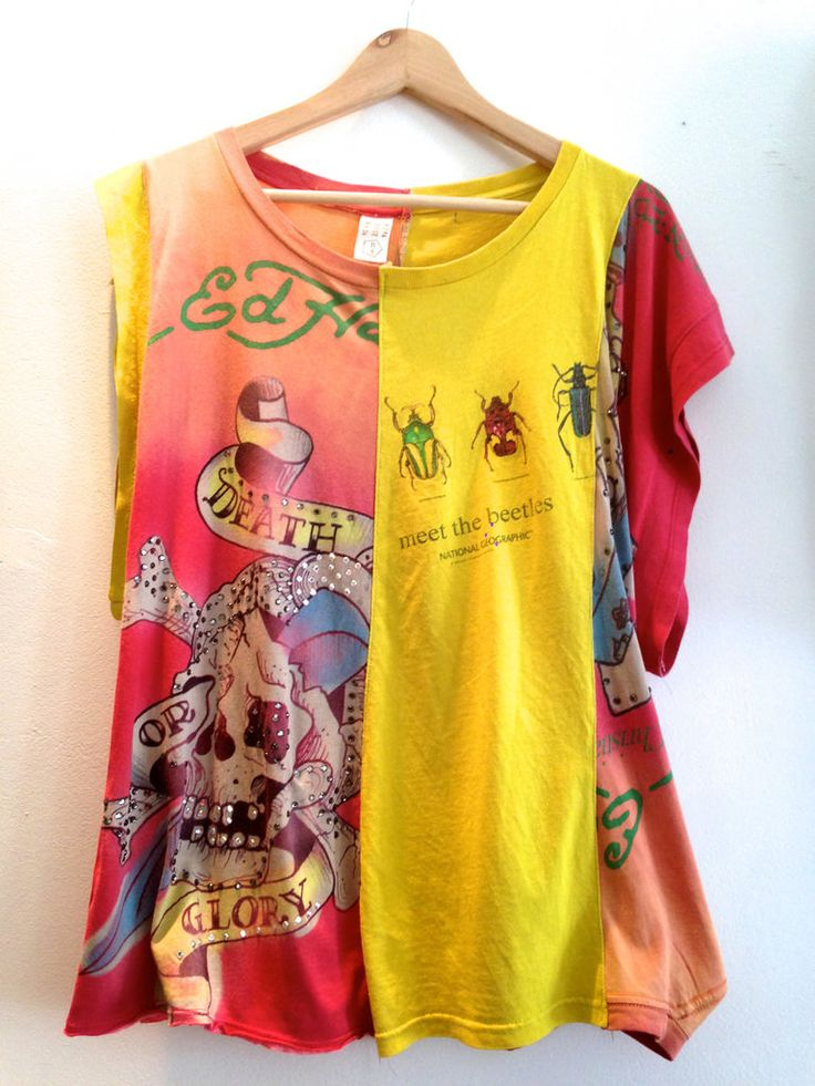 Upcycling t shirt into a new life