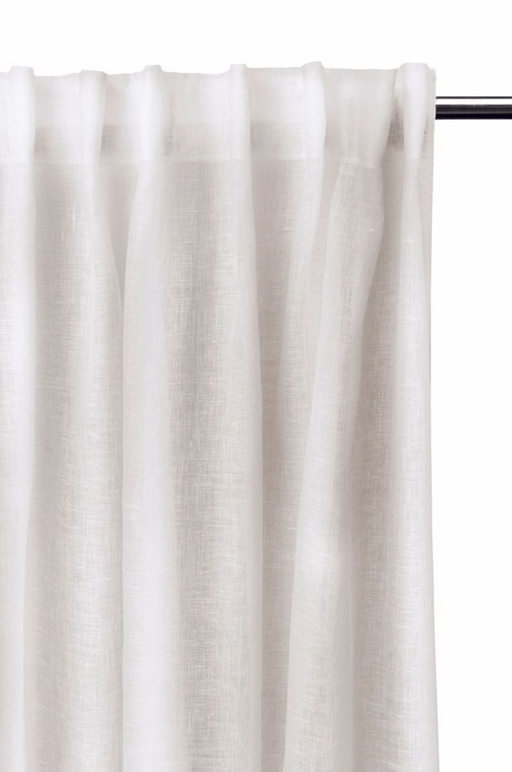DALSLAND Curtain with Heading Tape 145x290cm, White