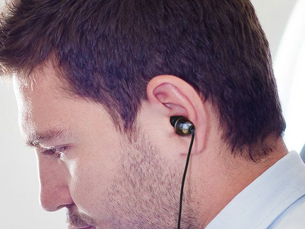 ISOtunes Wired Noise-Isolating Earbuds for $29