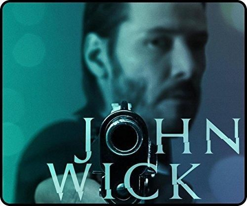 New Style Portable with Extended John Wick 2014 Mousepads 300x250x3mm(11.80x9.84x0.12inch)