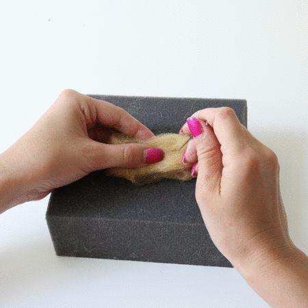 needle felting basics