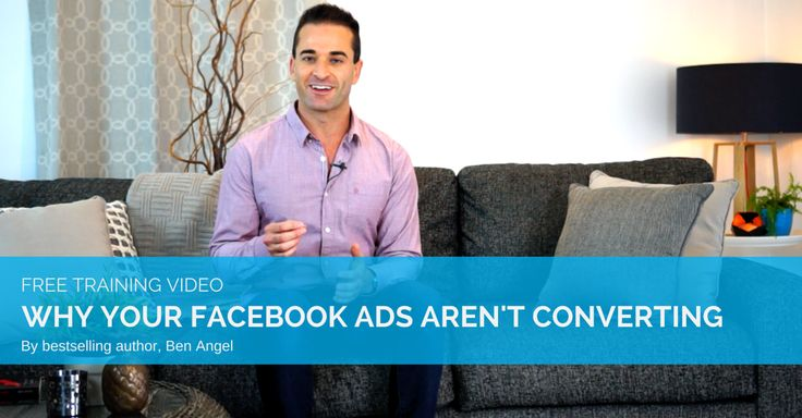 VIDEO: 7 Reasons Why Your Facebook Adverts Aren't Converting