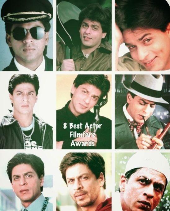 Shahrukh Khan - Filmfare awards for Best Actor  Twitter / SRKswarrior: Movies for which SRK won best actor.