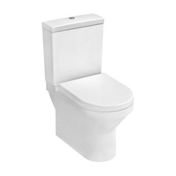 Vitra S50 Compact Back To Wall Close Coupled Toilet - Small Toilets - Toilets - Bathroom Suites