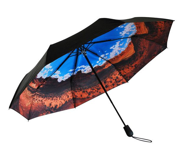 'Desert Dreaming' Folding Umbrella | Where I'd Rather Be | http://www.whereidratherbe.co.uk/products/desert-dreaming-folding-umbrella