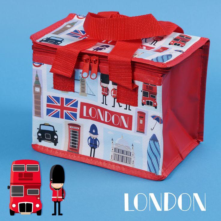 Chladící taška na piknik v anglickém stylu. Sir, Yes Sir! #LondonIcons #coolbag #piknik