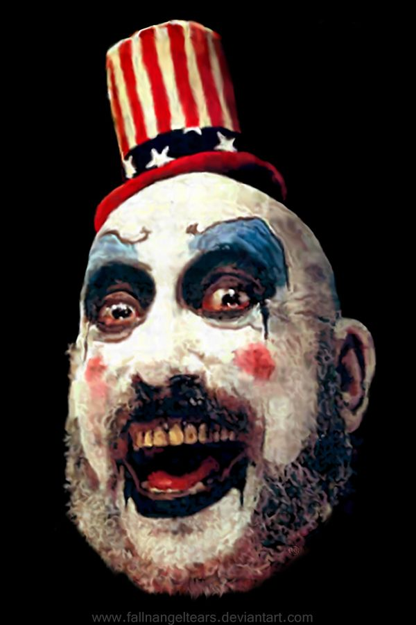 Captain_Spaulding - from House of 1000 Corpses & Devil's Rejects (killer clown art project)