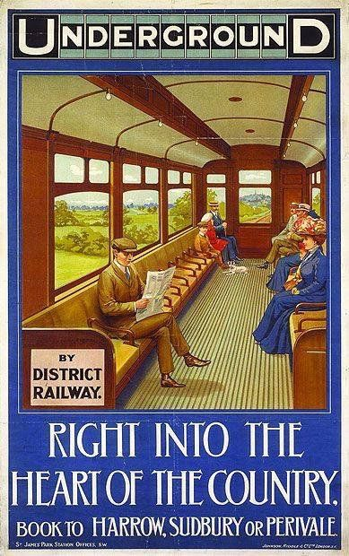 Vintage Underground Poster - posted on Twitter by @greatestcapital