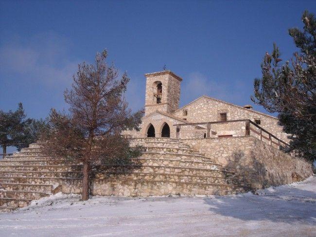 Ermita de San Esteve en Ontinyent (Valencia) Spain.  Un lujo subir sus 800 mts de altura y poder disfrutar de las fabulosas vistas de la Vall d'Albaida y de Ontinyent.