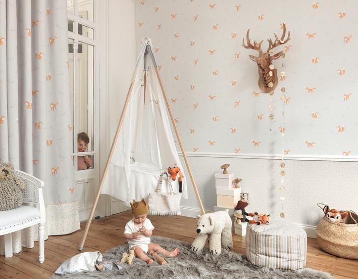 Spectacular kindertapeten de Casadeco My little World Gardinen G nstigMarburg TapetenG nstig KaufenBesuchenFuchsKinderzimmerStoffeM belstoffe
