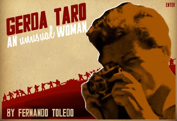 Gerda Taro #photography @Qomomolo