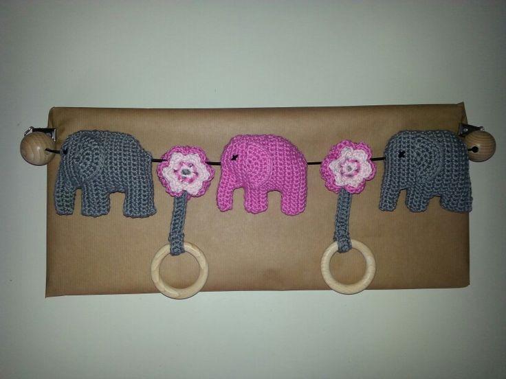 Wagenspanner olifantjes!
