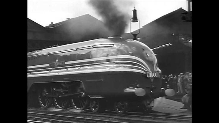 Steam Train - The Coronation Scot - 1937 London Midland & Scottish Railw...