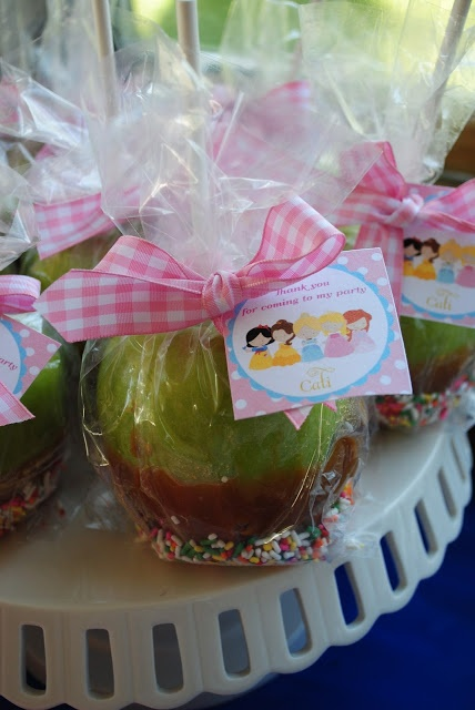candy apple favors