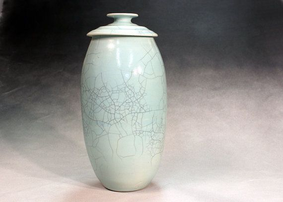 Creamation urn ceramic and pottery funeral urn by zalt57 on Etsy