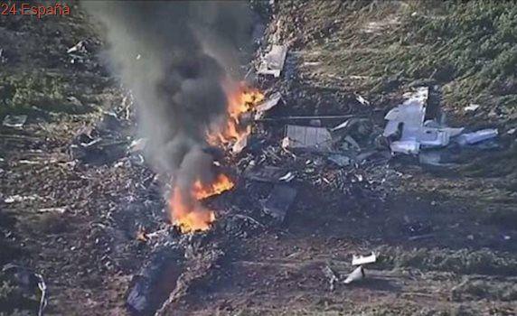 Mueren los 16 ocupantes de un avión militar tras un accidente en Misisipi