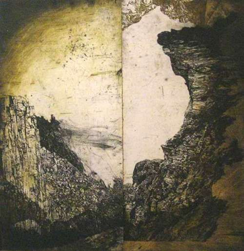 Raymond Arnold, etching