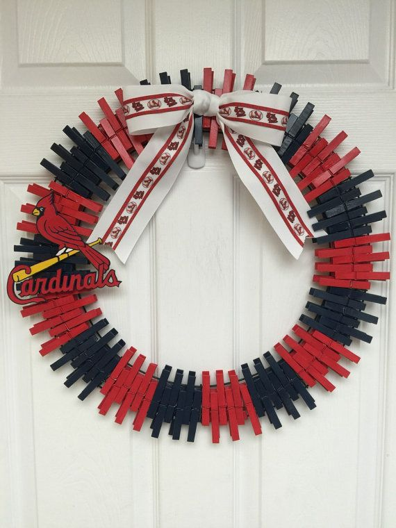 Excessive Inventory Sale Handmade Wreath Is Made With Care And Love Clothes Pins Make Up