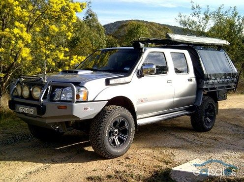 2012 Nissan Navara D22 ST-R Special Edition S5 MY12