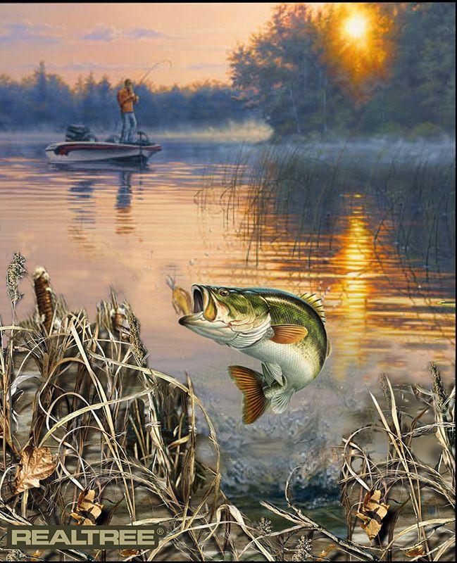 рыбалка картинки декупаж которые