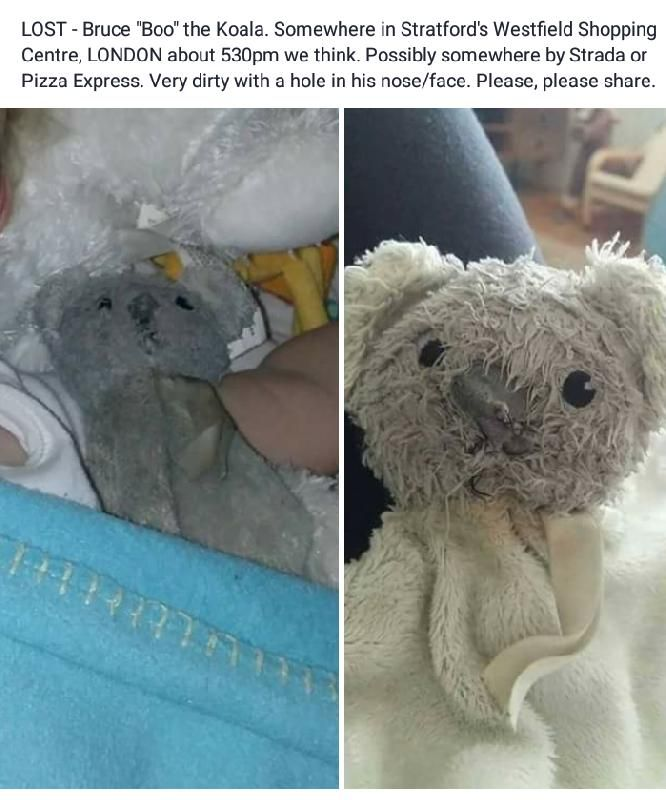 Lost on 15 Aug. 2016 @ Westfield Shopping Centre, Stratford, London. Much loved…