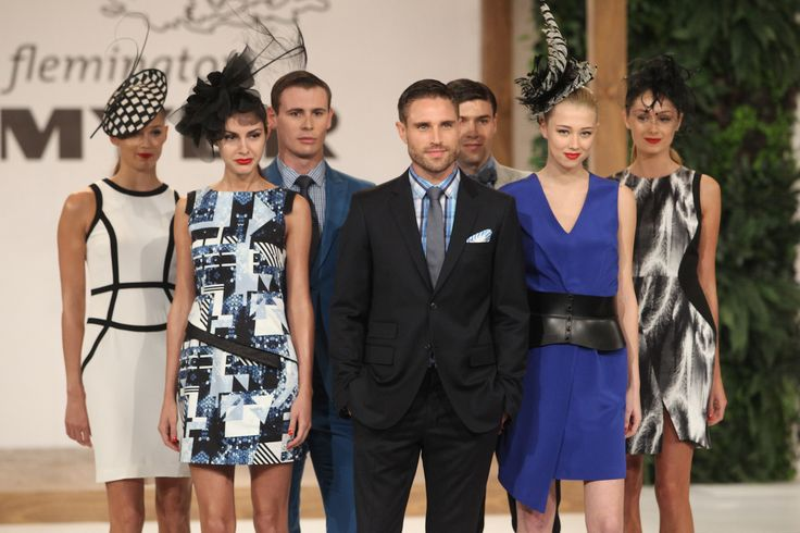 It is all about statement prints and block black and white colours at the Myer Spring Fashion Lunch