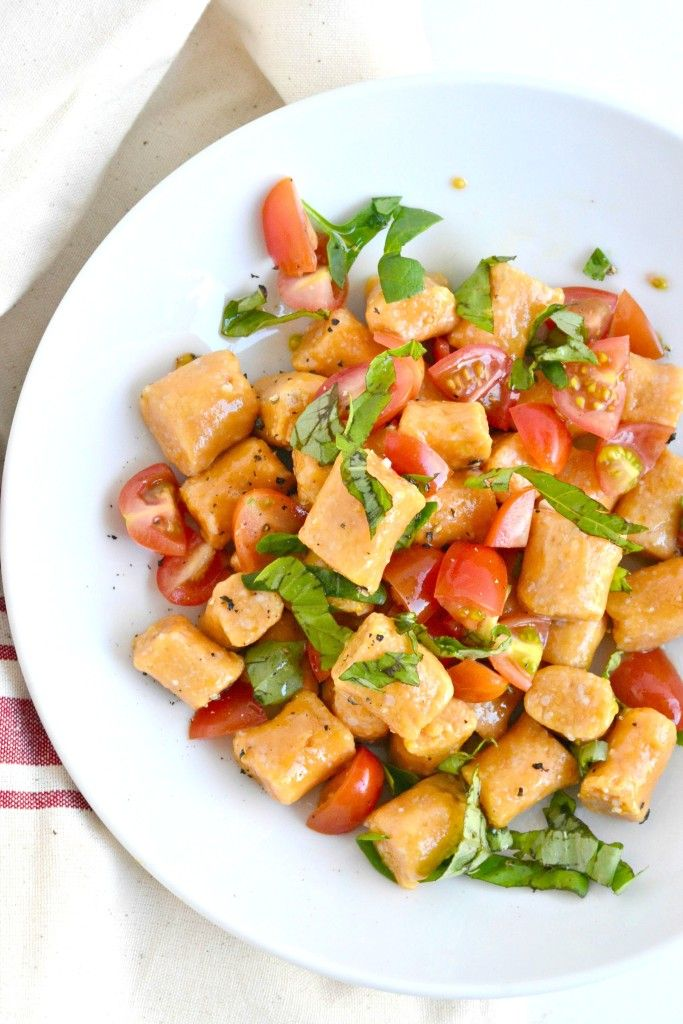 Egg free sweet potato gnocchi is simple to make and even better to taste!