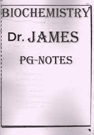 Dr.Rebecca James Biochemistry Notes for NEET PG / FMGE ...