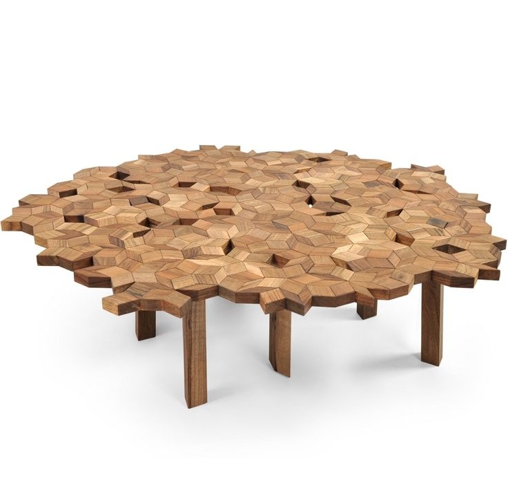 The OMBRA table by ZANAT. Designed by Jasna Mujkic.