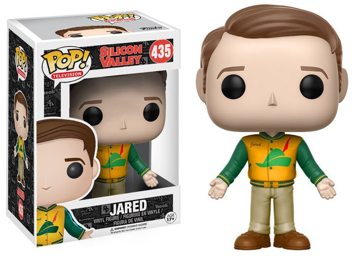 Funko POP Television: Silicon Valley Jared Vinyl Figure