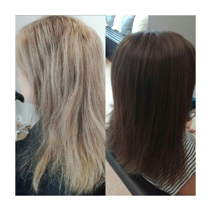 #haircolor #brune