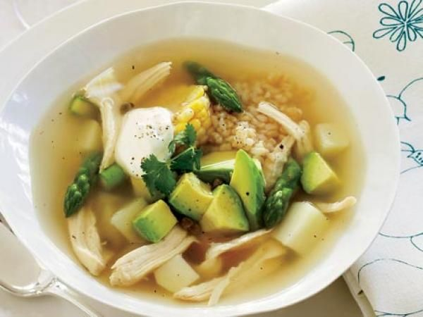 Colombian Chicken Soup | KitchenDaily.com Leave out the yogurt!