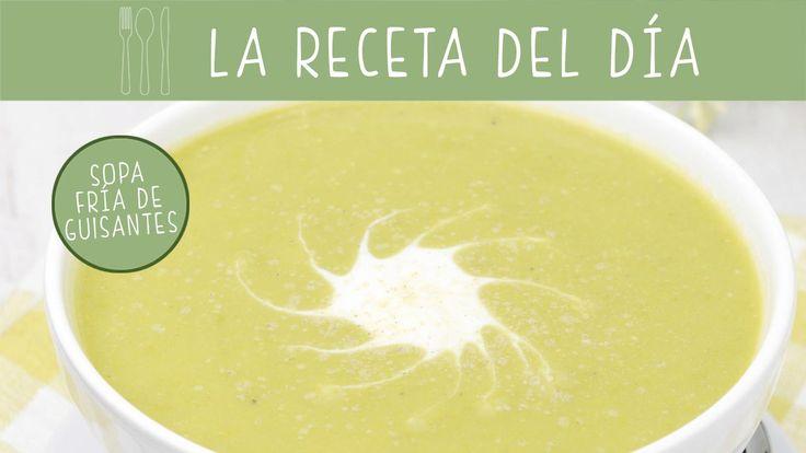 Con guisantes y un toque de menta preparamos una deliciosa #receta de sopa fría.