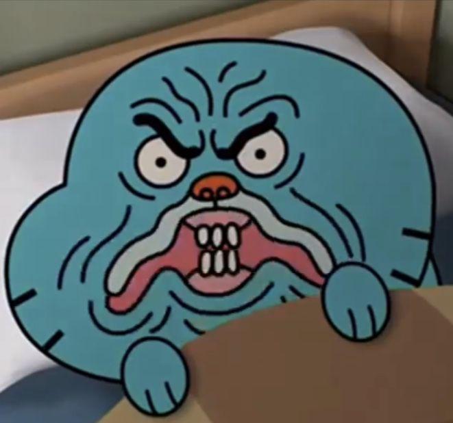 Gumball Weird Faces 6